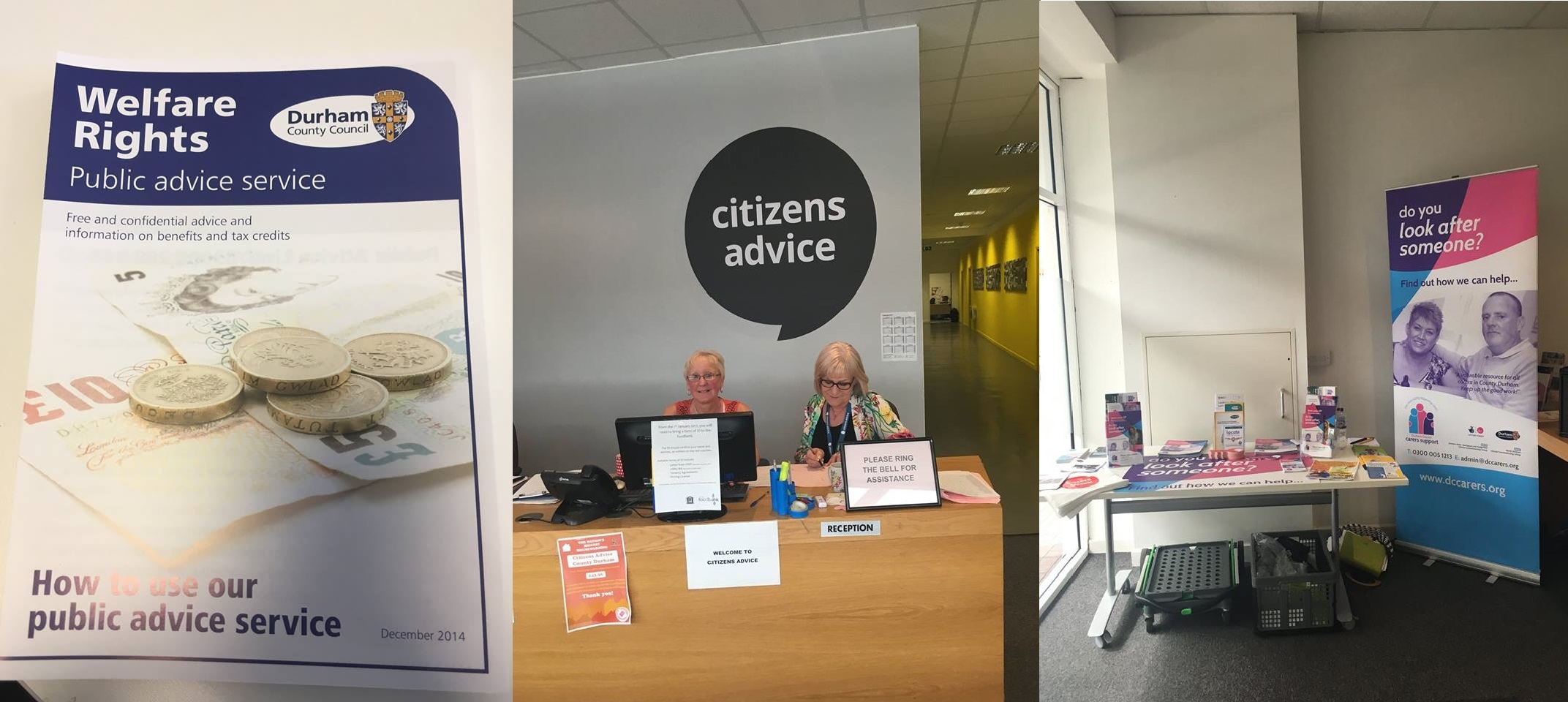 County Durham Carers Support comes to Peterlee !!