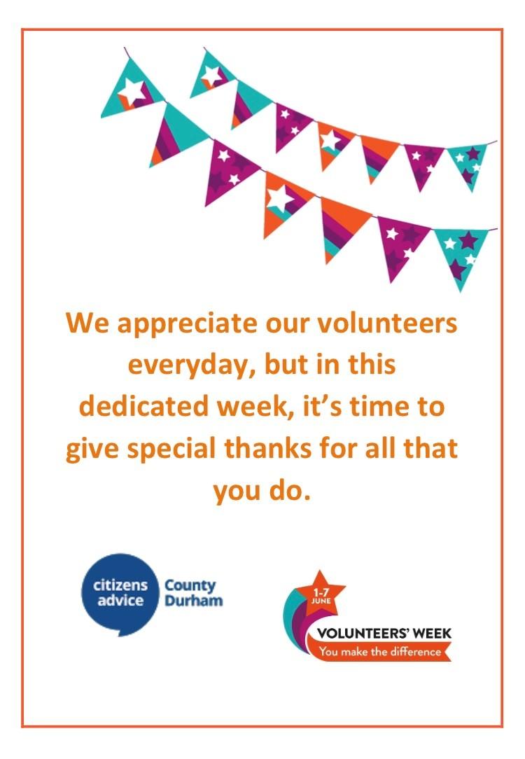 It's Volunteers' Week
