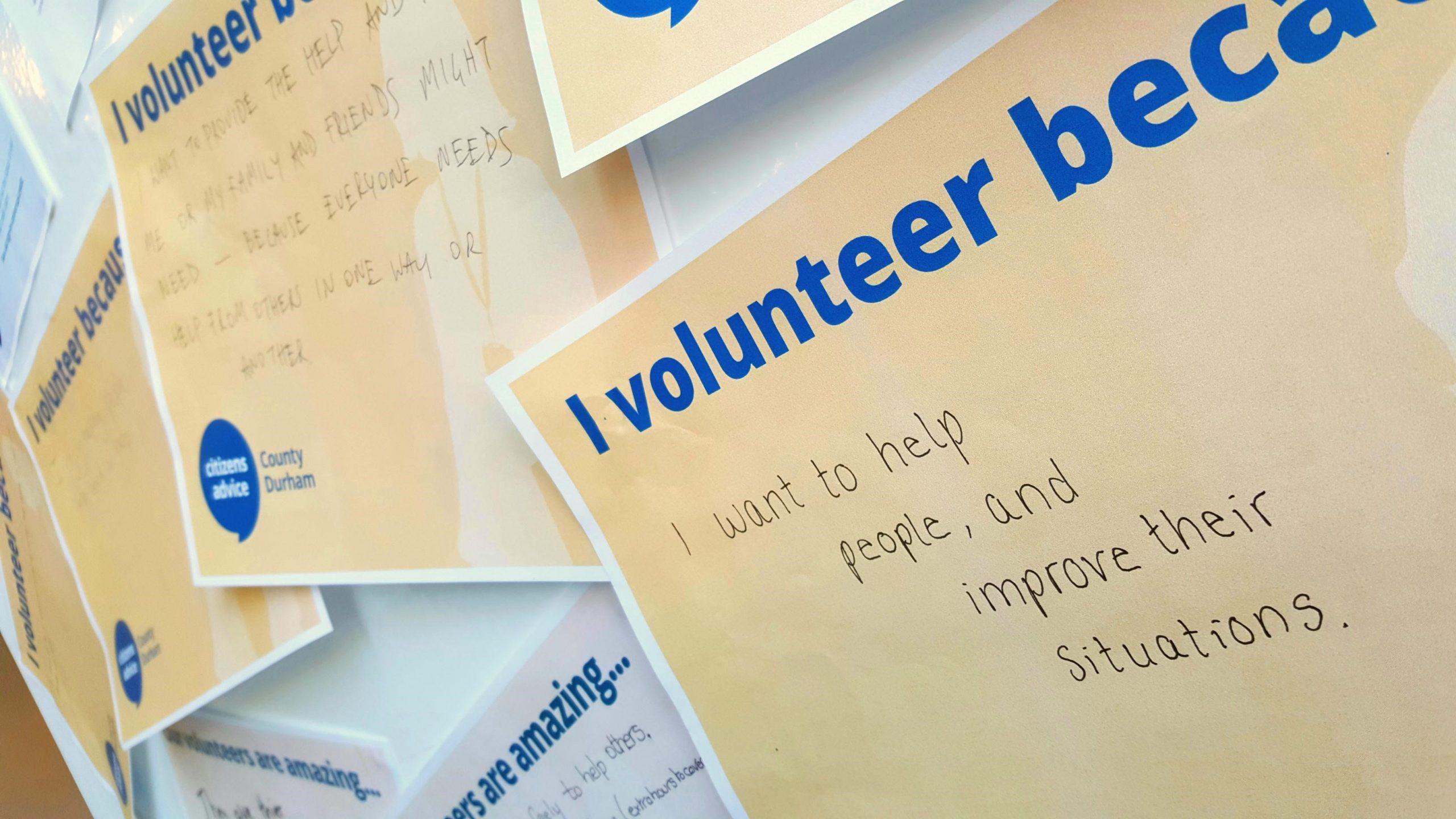 It's volunteers week!