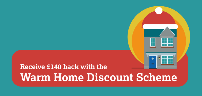 Don't miss out on the Warm Home Discount rebate of £140!